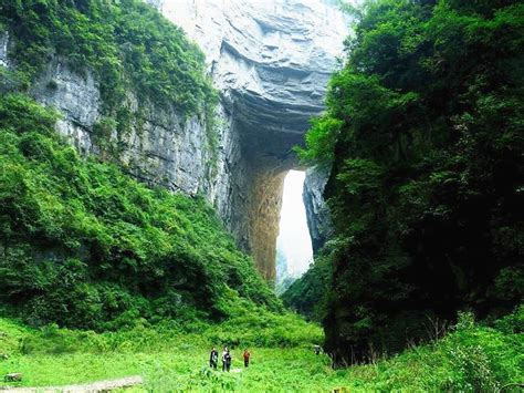 """Wulong Karst-another """"Zhangjiajie"""" with different nature"""
