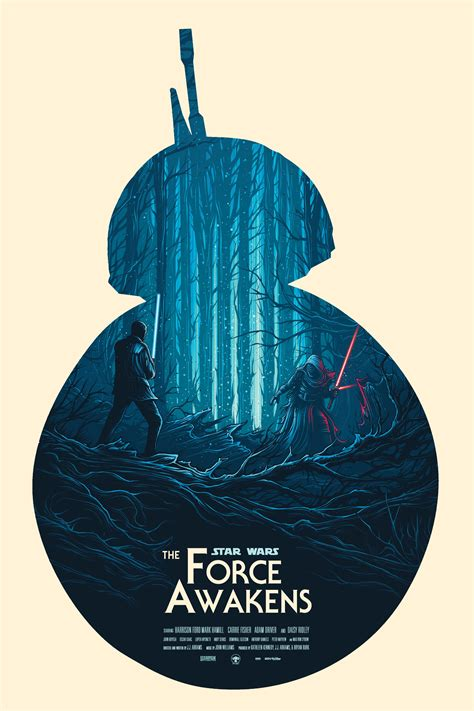 Star Wars: The Force Awakens - Olly Moss (2015) [705 x 485
