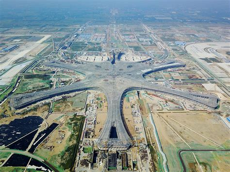 Beijing's second airport starts taking shape - Chinadaily