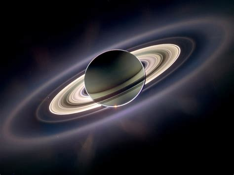 Planet Saturn With The Rings Hd Wallpaper : Wallpapers13
